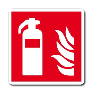 Antincendio  simbolo + testo - Nuova Norma  UNI EN ISO 7010:2012