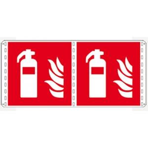 Bifacciali Antincendio solo simbolo - Nuova Norma UNI EN ISO 7010:2012