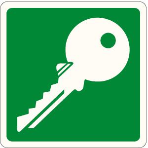 Emergenza Norma UNI 7543/1 solo simbolo