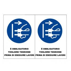 Etichette Sicurezza -  Nuova Norma UNI EN ISO 7010:2012