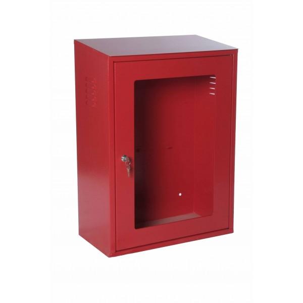 Armadio attrezzatura ant.dio rosso ral3000 con portello safe crash ( escluso lastra cod.0903 ) chiusura con chiave dim.500x260x700h
