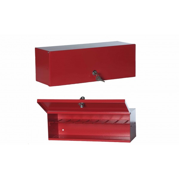 Cassetta porta sprinkler 24 posti verniciata rosso ral3000 mis.400x140x140h