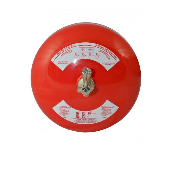 Estintore automatico kg.6 polvere