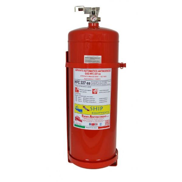 Estintore automatico a gas hfc 227 kg 12