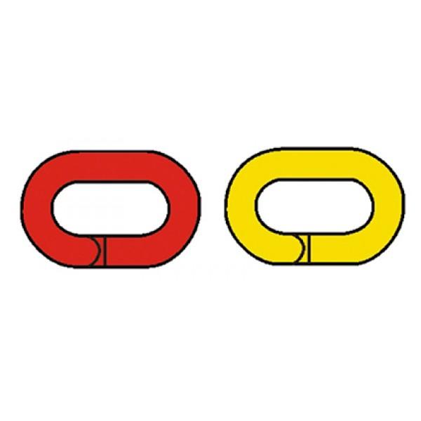 Anello di giunzione giallo per catena cap105gn 8x29x49mm. (agp105g)
