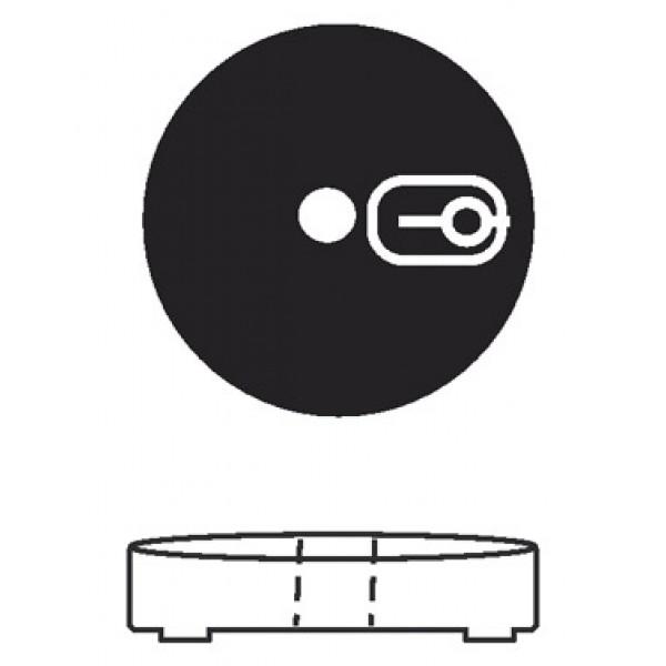 Base rotonda riempibile diametro mm 300