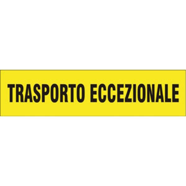 Pannello per trasporto eccezionale all. rifr. cl 2 formato mm 600x150