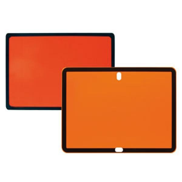 Pannello neutro adr acciaio inox formato mm 400x300x0,8
