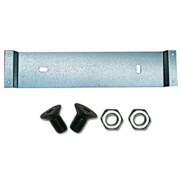 Staffa universale acciaio inox formato mm 357x75 completa di bulloneria
