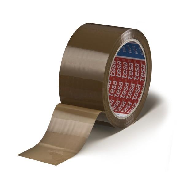 Nastro packaging pp tape marrone mis. 66x50 mm