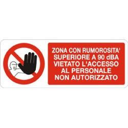 N°10 ADESIVI Cartello segnaletica Adesivo vietato fumare 330X125 mm.