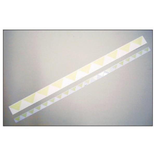 Alluminio adesivo luminescente formato mm 1000x 60 marcatura hi per porte (hiporte60)