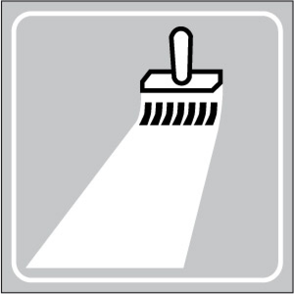 Cartello in lamiera scatolato rifrangente cl. 1 lato mm 800-segnaletica in rifacimento
