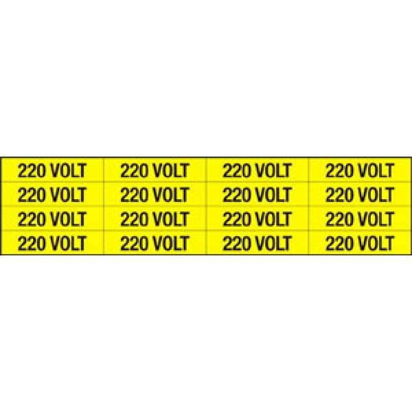 Foglio distributore formato mm 240x60 da 16 et. 220 volt