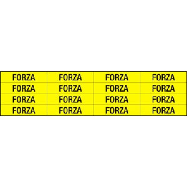 Foglio distributore formato mm 240x60 da 16 et. forza