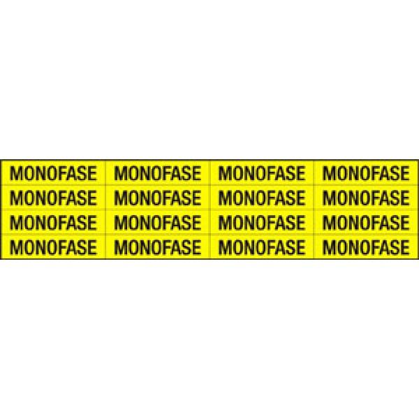 Foglio distributore formato mm 240x60 da 16 et. monofase