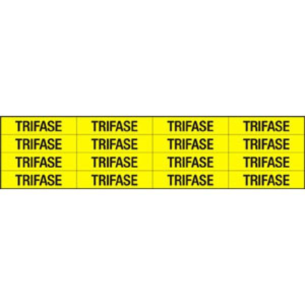 Foglio distributore formato mm 240x60 da 16 et. trifase