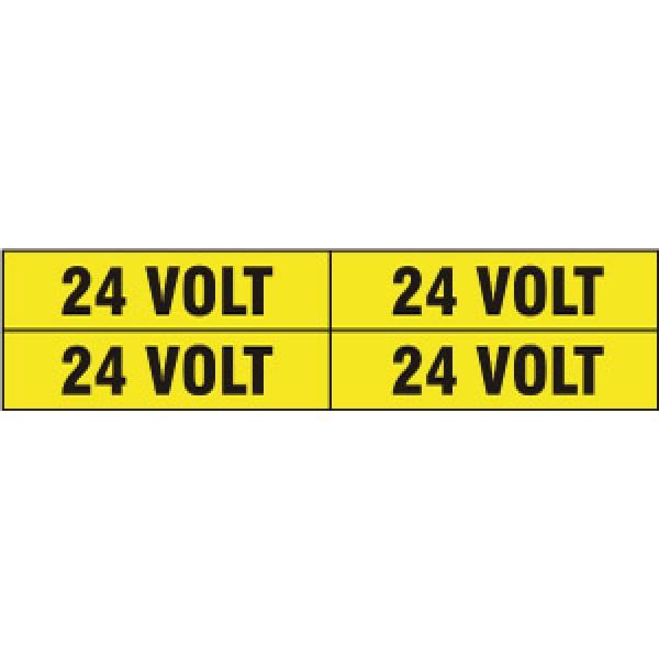 Foglio distributore formato mm 240x60 da 4 et. 24 volt