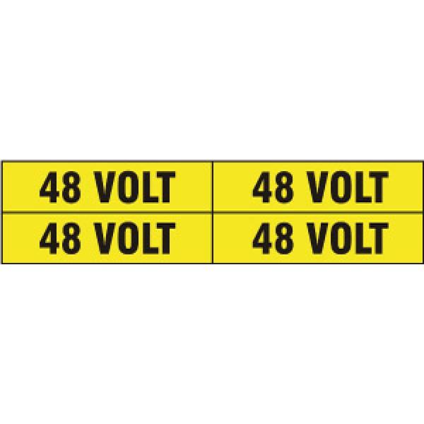 Foglio distributore formato mm 240x60 da 4 et. 48 volt