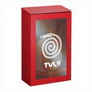 Cassette corredo idrante acciaio rosse